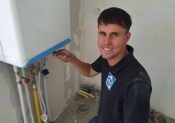 leerling monteur installatietechniek